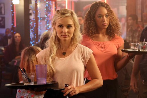 Nashville Clare Bowen and Chaley Rose on the season premiere of Nashville.