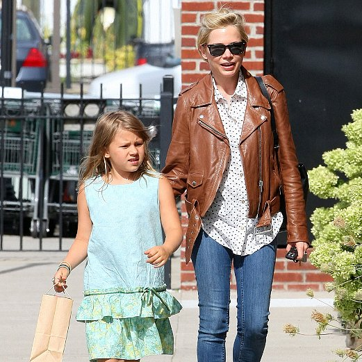 Michelle Williams With Matilda Ledger on Her Birthday