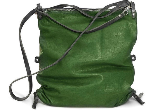 AD LIB4 'green' leather bag