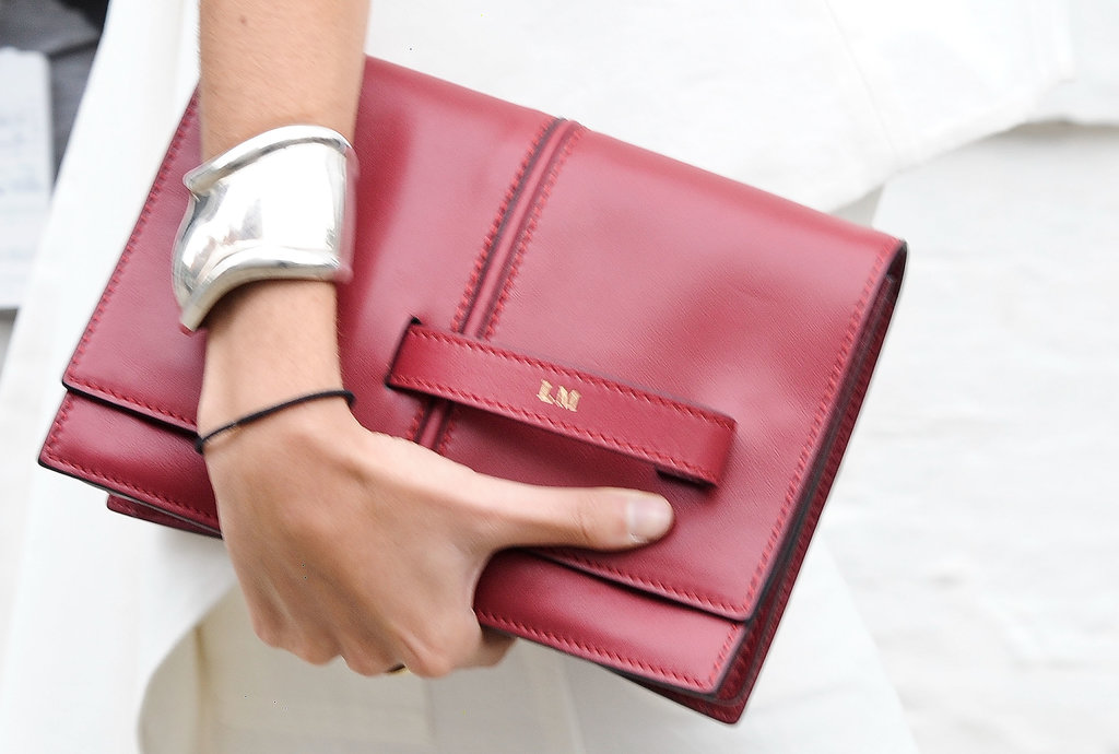 The chicest kind of monogramming.