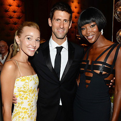 Novak Djokovic Foundation Gala NYC Dinner Celebrity Pictures