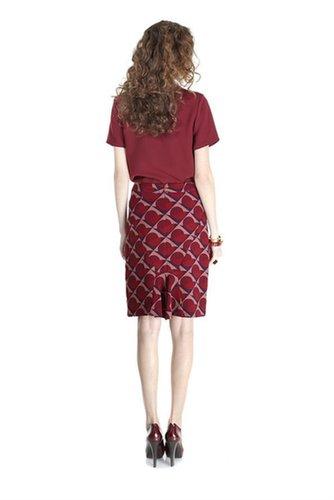 Etta Print Skirt