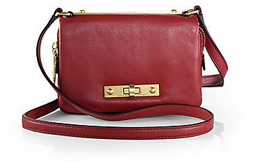 Marc by Marc Jacobs Goodbye Columbus Leather Mini Crossbody Bag