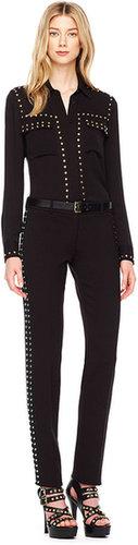 Michael Kors Studded Slim Pants