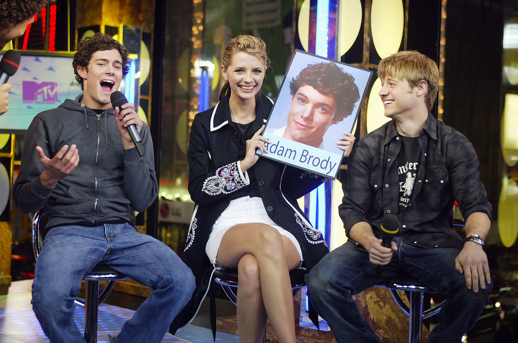 The cast of The OC was on TRL in 2003.