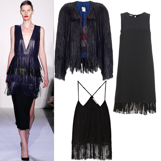 2014 New York Fashion Week Trend Fringing