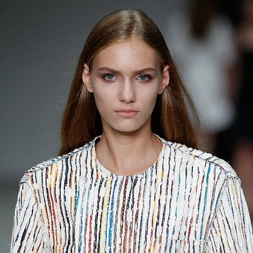 Calvin Klein Spring 2014 Hair and Makeup | Runway Pictures