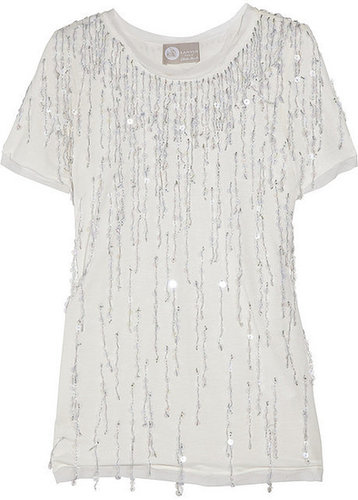 Lanvin Sequined jersey T-shirt