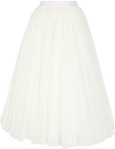 Alberta Ferretti Multi-layered tulle skirt