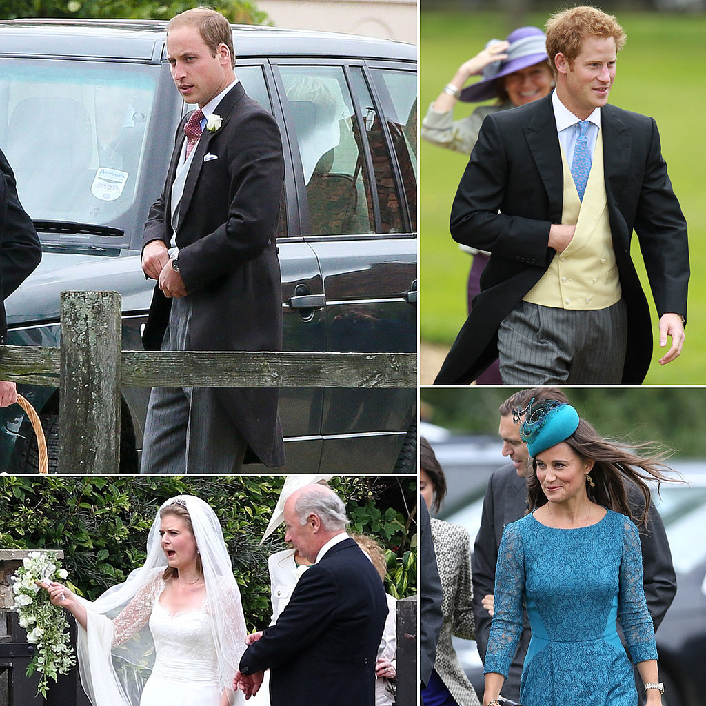 Anne Hathaway Opens Up About Her History With Rage: Prince William And Prince Harry At A Wedding In Gayton