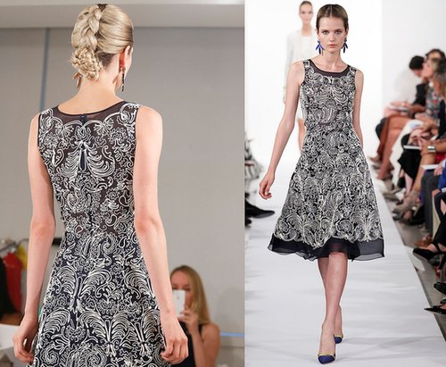 Oscar de la Renta Resort 2014 - Runway Photos