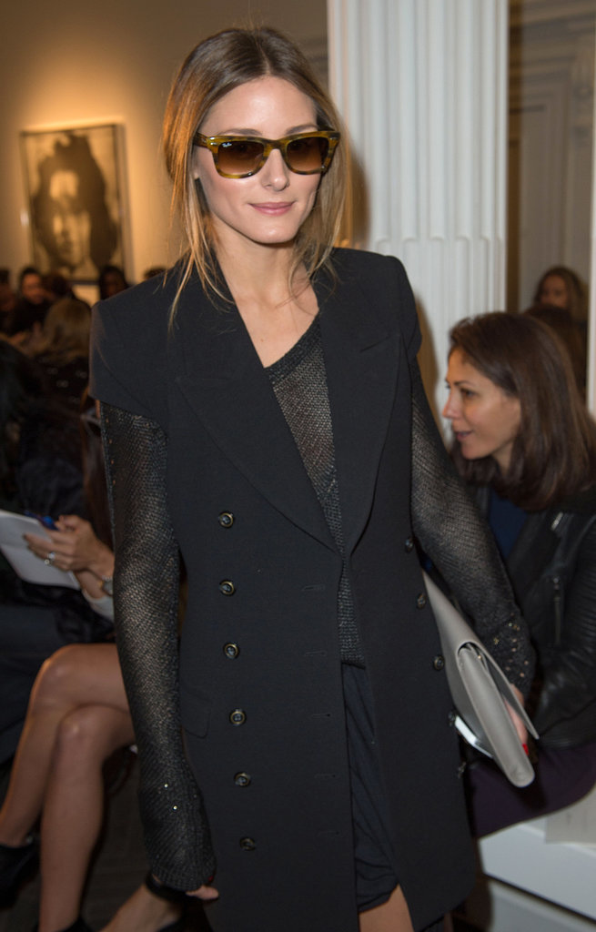 Olivia Palermo at Emilia Wickstead.