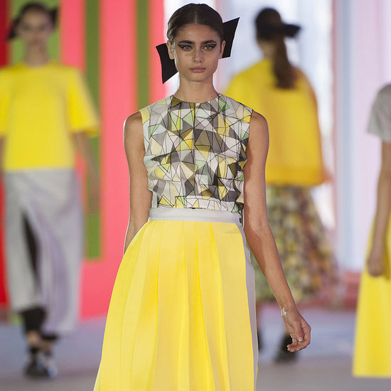 Roksanda Ilincic Spring 2014 Runway | London Fashion Week
