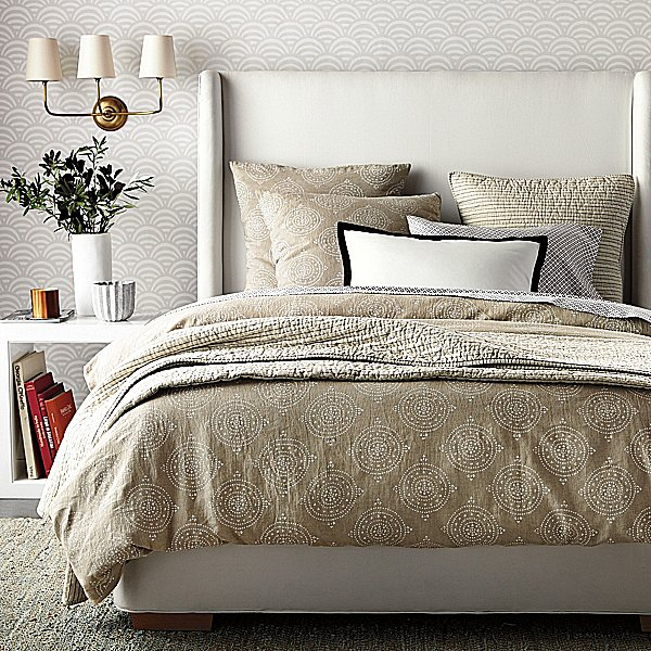 This earthy duvet ($195-$295) leaves the brights of Summer behind for a look that is both stylish and seasonal.