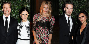 The Beckhams, Sienna Miller and More It Brits Collaborate For a Cause