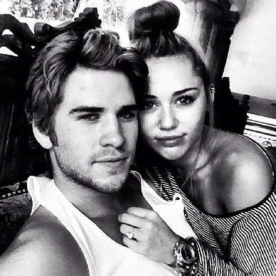A candid snap shared from what was Liam Hemsworth's Instagram account. Source: Instagram user liamhemsworth_