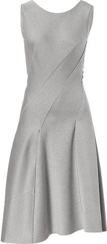 Donna Karan Spiral Dress in Ash