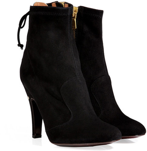 Laurence Dacade Suede Eva Ankle Boots in Black
