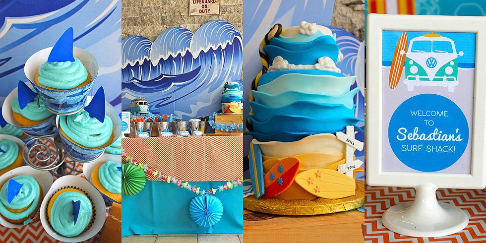 A Surf Shack Birthday Party Inspired by Teen Beach Movie