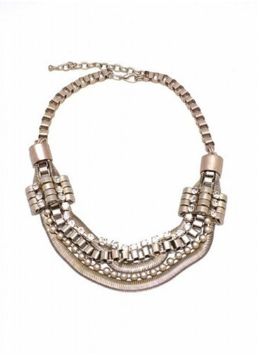 Zenzi Industrial Statement Necklace