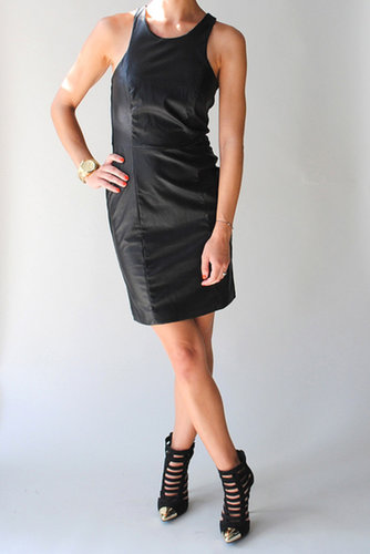 Lady Dutch Faux Leather Dress