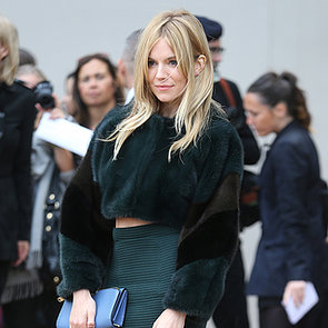 Celebrities Front Row at London Fashion Week Spring 2014