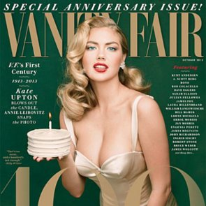Kate Upton For Vanity Fair 100th Anniversary