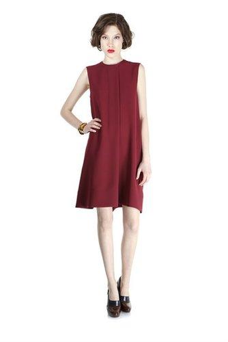 Sparks Crepe Sleeveless Dress