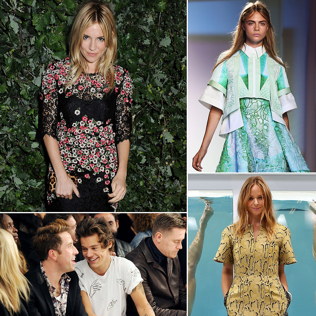 Front-Row Status: See All the Stars at London Fashion Week!