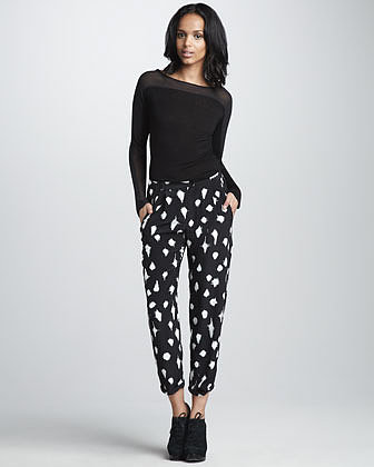 Graham & Spencer Starlight-Print Pants