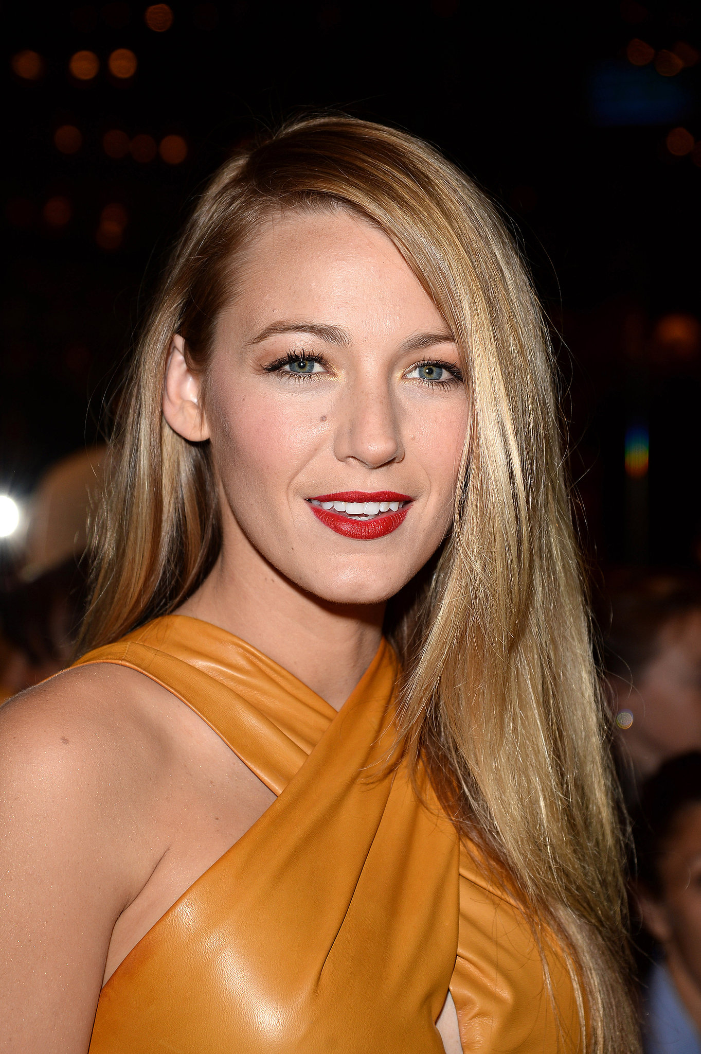 Blake Lively at Gucci Spring 2014.