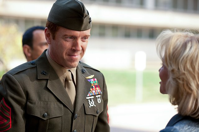 The show: Homeland  The date: Build a care package for an overseas soldier   Marine Nicholas Brody may or may not be working for the enemy, but he's still considered a hero for serving time in Iraq. Take a cue from the show, and honor soldiers together by sending a care package or getting close over other volunteer date ideas.