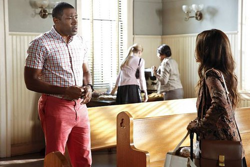 Hart of Dixie Cress Williams on Hart of Dixie.