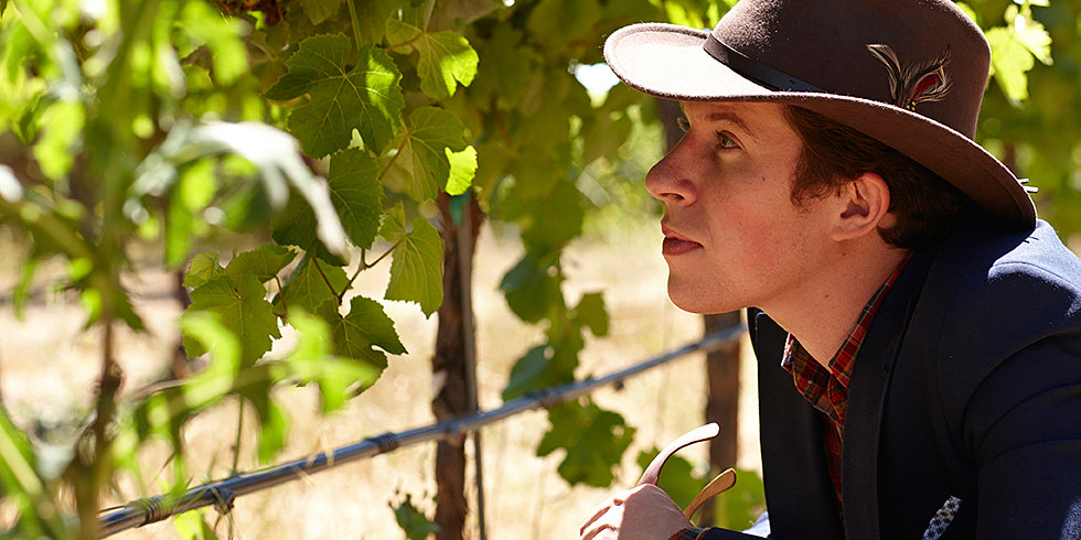 Justin Warner Tones Down His Rebel Cause to Chill Out in Wine Country