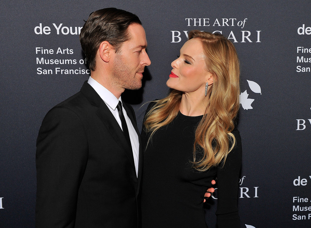 Michael Polish and Kate Bosworth stepped out for the Bulgari event in San Francisco.