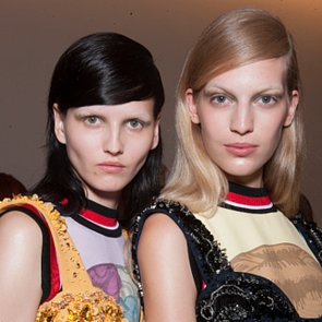 Bleached Brows and Beauty at 2014 Milan Fashion Week
