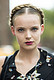 We love a good crown braid, but a bold lip is the cherry on top. Source: Le 21ème | Adam Katz Sinding