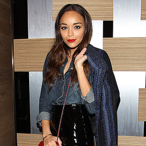 Ashley Madekwe Outfit at 7 For All Mankind LA Party