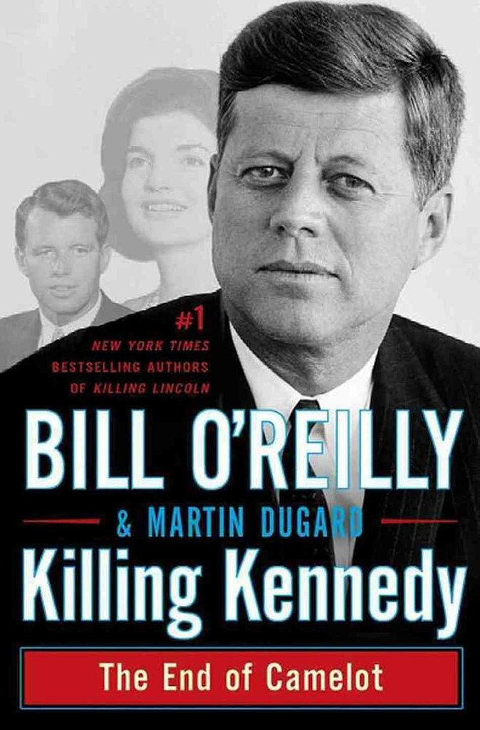 Bill O'Reilly's historical narrative Killing Kennedy: The End of Camelot details the events leading up to the assassination of JFK and what happened in the aftermath.