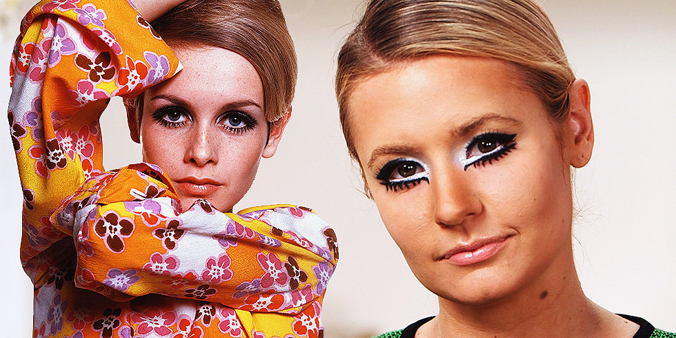 Try It For Yourself: Our Take on Twiggy's Mod Makeup