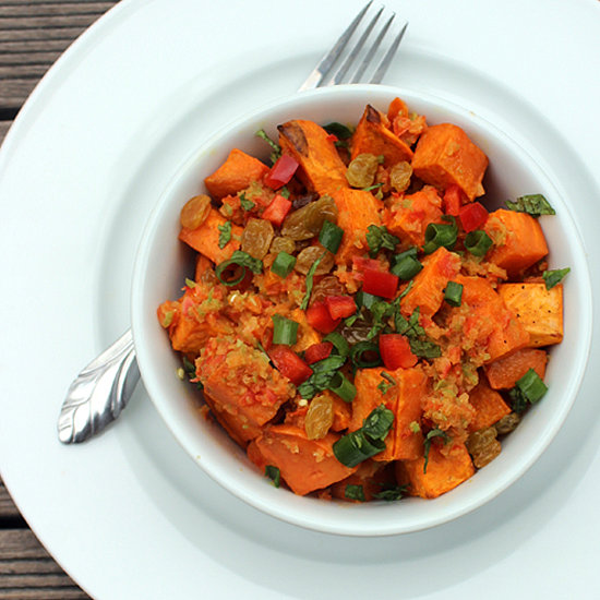 This Spicy-Sweet Potato Salad Can Help You Lose Weight