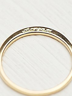 Ring, $645, Free People.