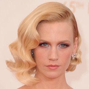January Jones Hair and Makeup at Emmys 2013 | Pictures