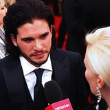 Kit Harrington Red Carpet Interview at 2013 Emmy Awards