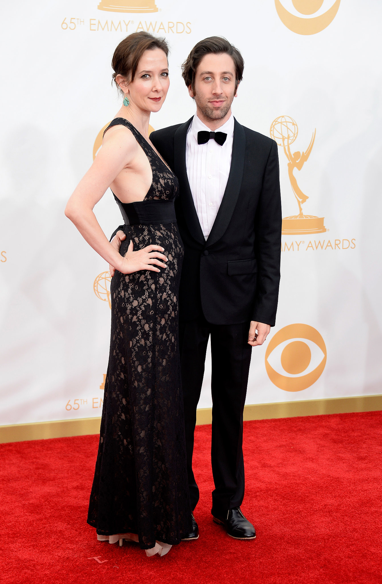 Simon Helberg and Jocelyn Towne hit the red carpet together.