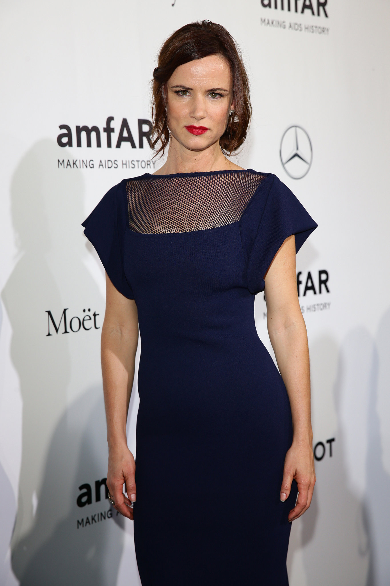 Juliette Lewis at the amfAR Milano Gala.