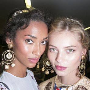 Dolce and Gabbana Spring 2014 Hair and Makeup   Pictures