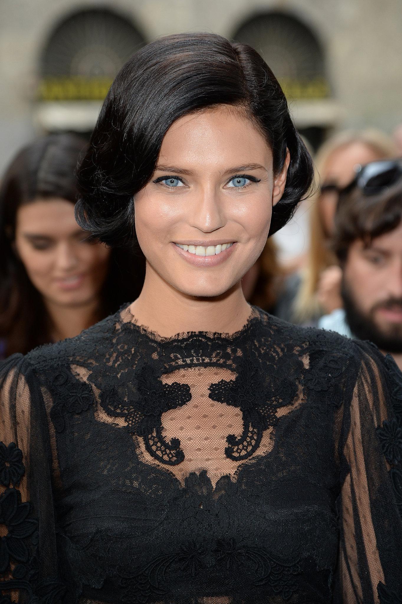 Bianca Balti at Dolce & Gabbana Spring 2014.