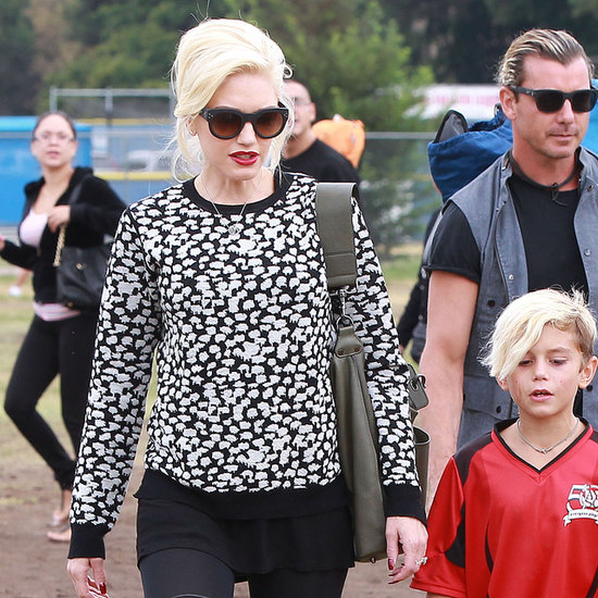 Gwen Stefani: World's Most Stylish Soccer Mom?