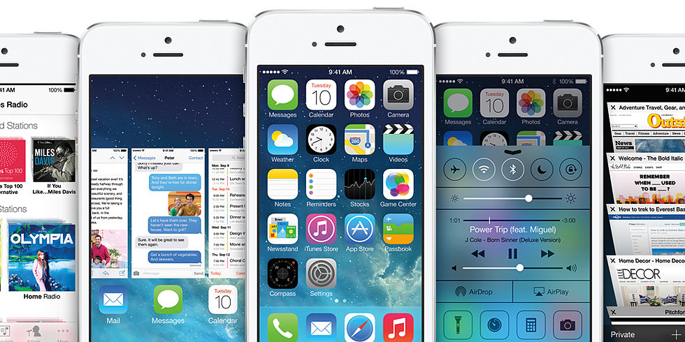 What We're Loving About iOS 7